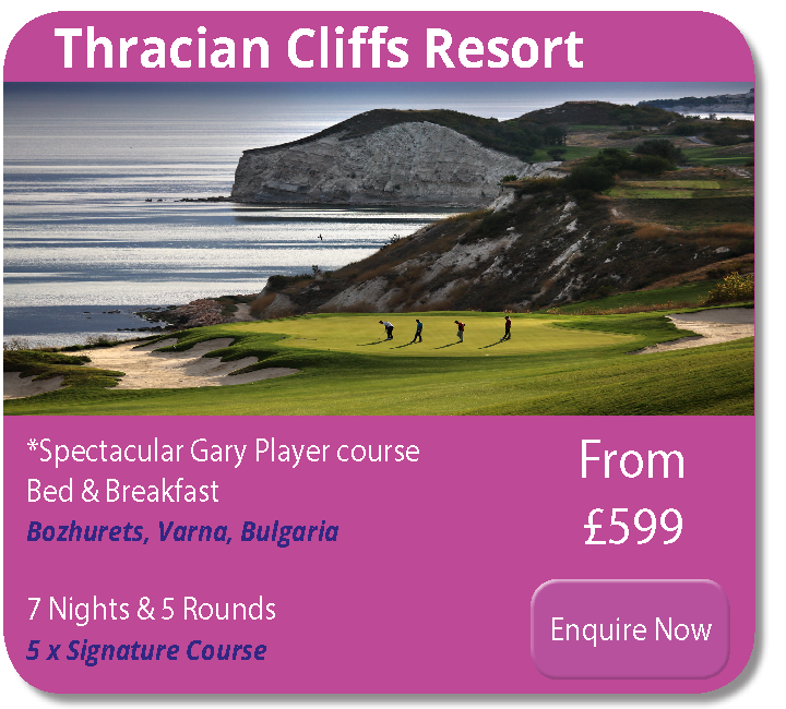 thracian cliffs golf bulgaria