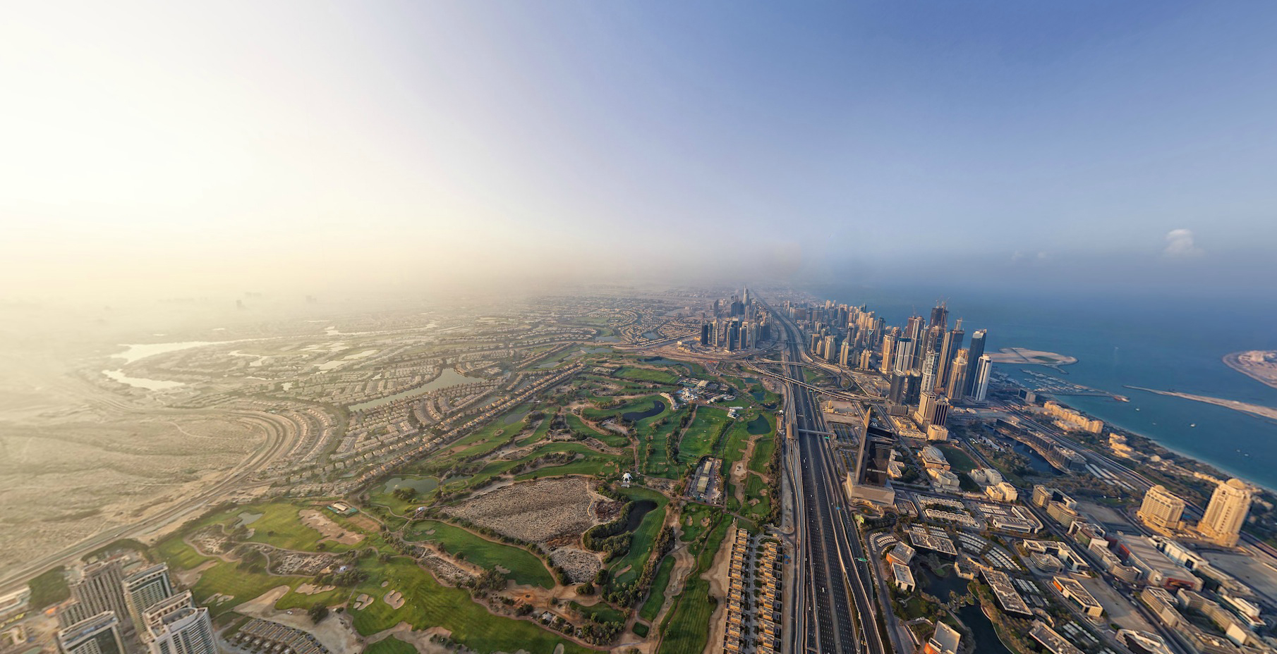 UAE luxury hotels Strike golf travel