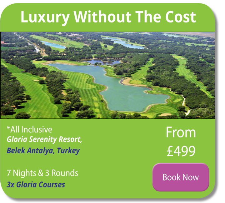 gloria serenity golf holiday strike golf travel
