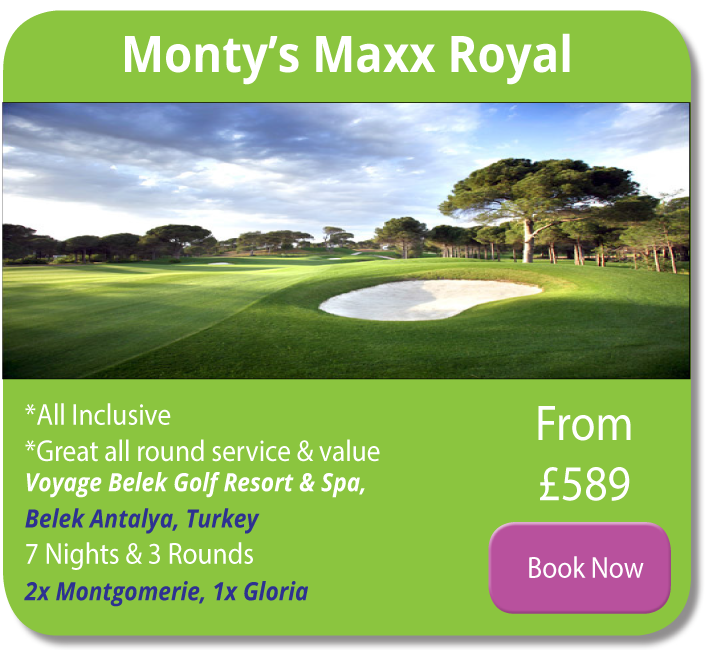 maxx royal turkey holiday deal strike golf travel