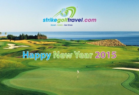 happy new year strike golf travel